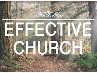 Effective Church: Sep 11 – Oct 02, 2016