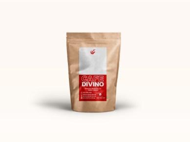 Diseño de etiqueta para bolsas de café