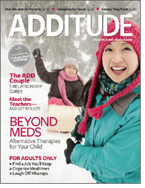 One of ADDitude's 8 Best Blogs!