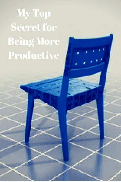 My Top Secret for Being More Productive