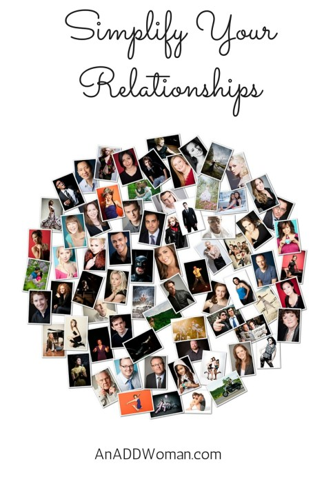 Simplify Your Relationships