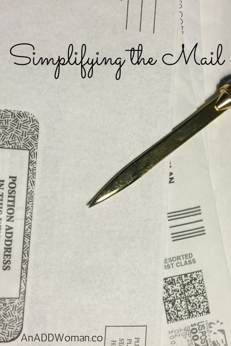 Simplifying the Mail