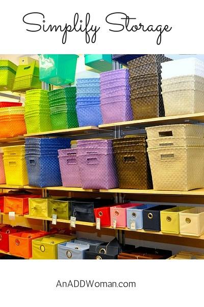 Simplify Storage