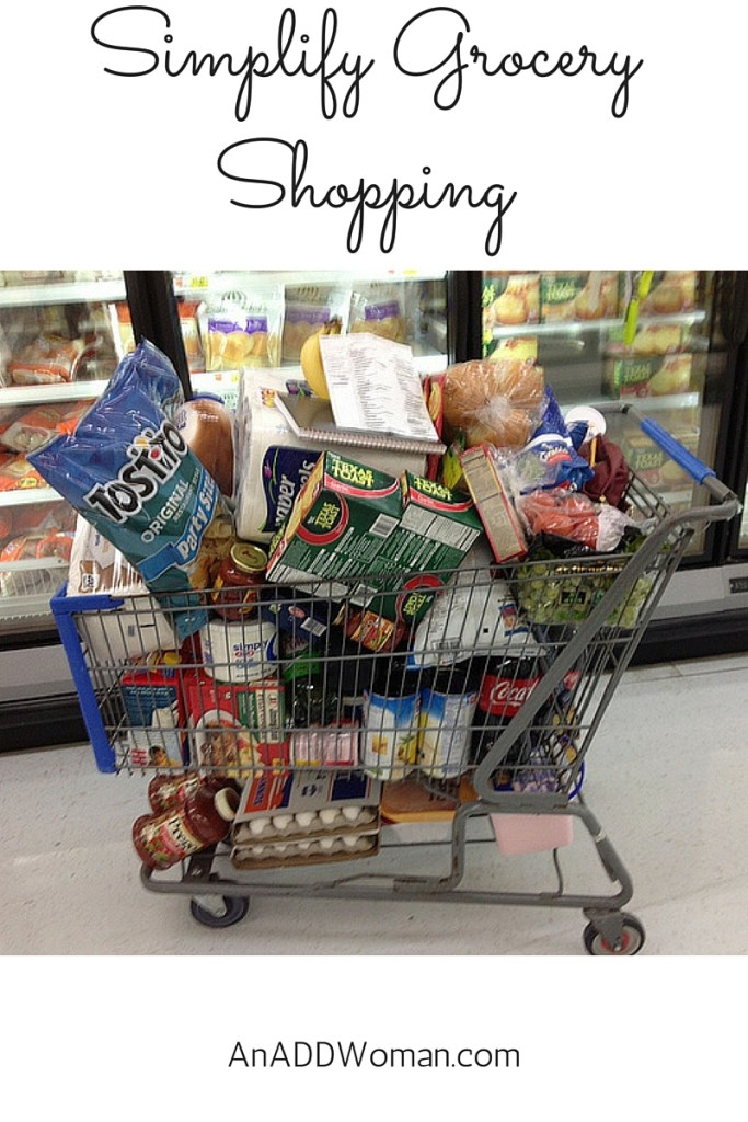 Simplify Grocery Shopping