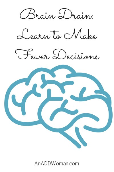 Brain Drain: Learn to Make Fewer Decisions