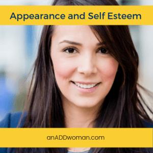 appearance, self esteem, ADHD