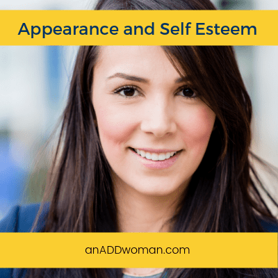 appearance, self esteem, ADHD
