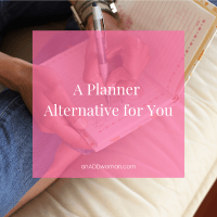 A Planner Alternative for You