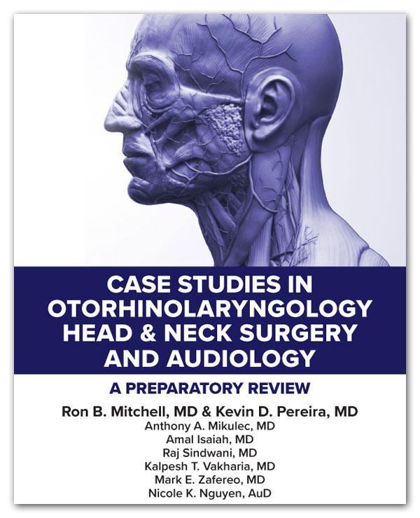 Case Studies in Otorhinolarygology Cover