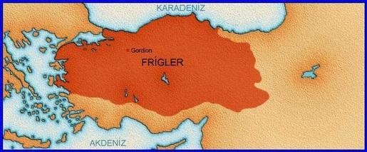 Frigyalılar - ANADOLU UYGARLIKLARI