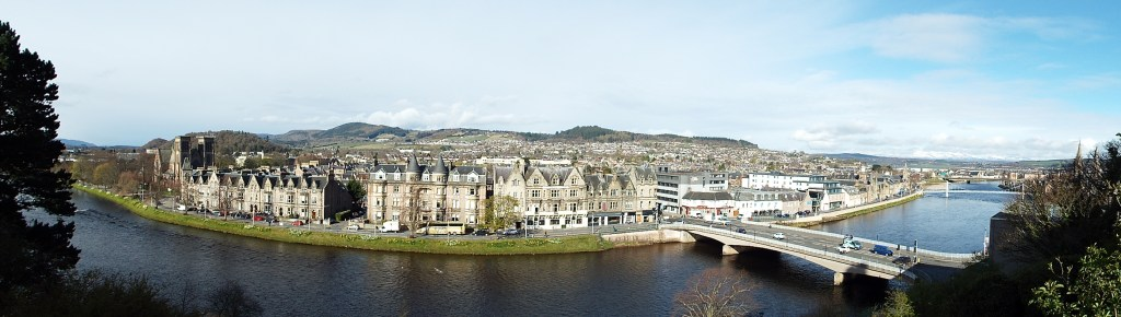 View of River Ness from Inverness Castle