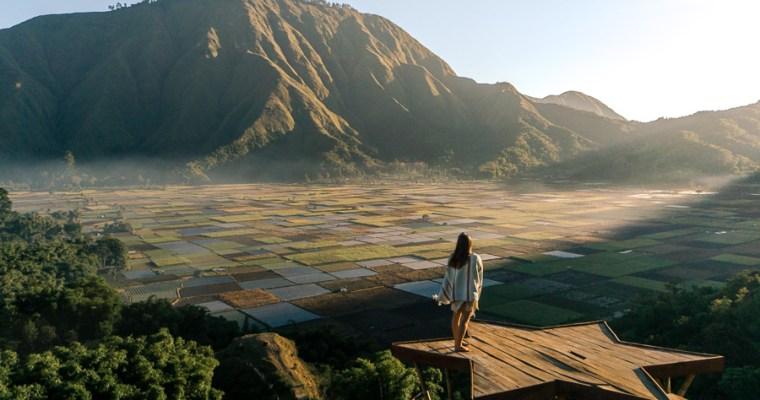 Sunrise at Bukit Selong- Lombok