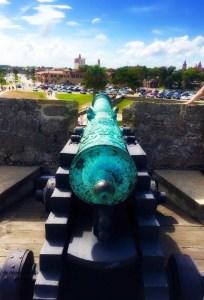 Canon on the Castillo de San Marcos National Monument
