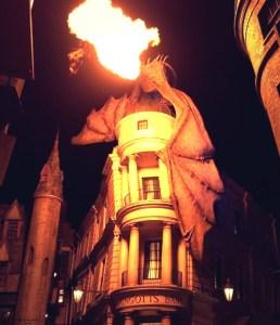 Dragon in Diagon Alley at Universal Orlando