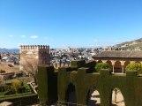 La Alhambra - Huge gardens.