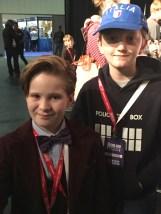 Tom Project Indigo meets Mini Matt Smith
