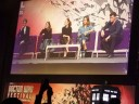 Peter Capaldi, Steven Moffat, Michelle Gomez, Ingrid Oliver and Jenna Coleman at The Doctor Who Festival