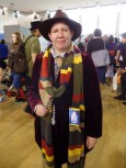 Doctor Who cosplay at Film & Comic Con Bournemouth - Fourth Doctor