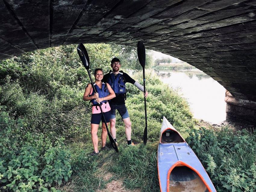 Making a splash – a 30 mile kayaking challenge