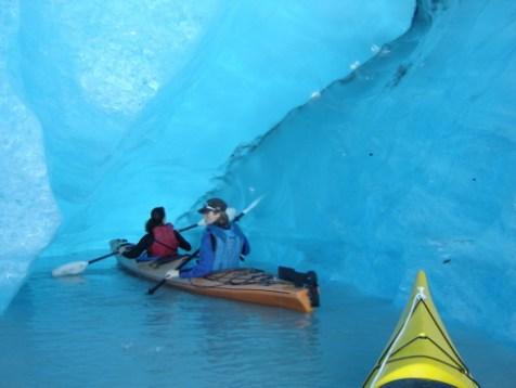Valdez Glacier ice cave 2005