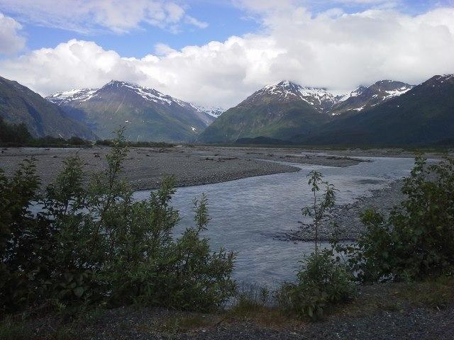 Valdez Glacier Stream