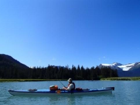 Fishing in the sunshine