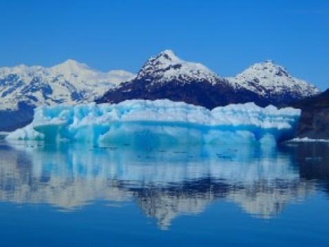 Iceburg reflected in Columbia Bay