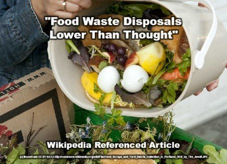 food waste lower reference article