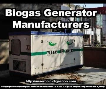 The Biogas Generator image
