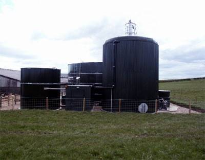 Greenfinch on-farm biogas plant example