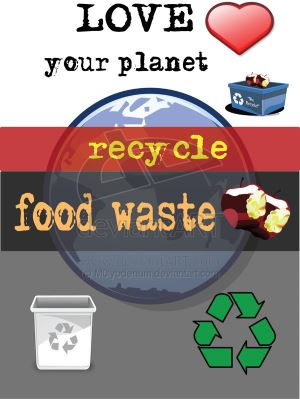 recycle food waste for digestion