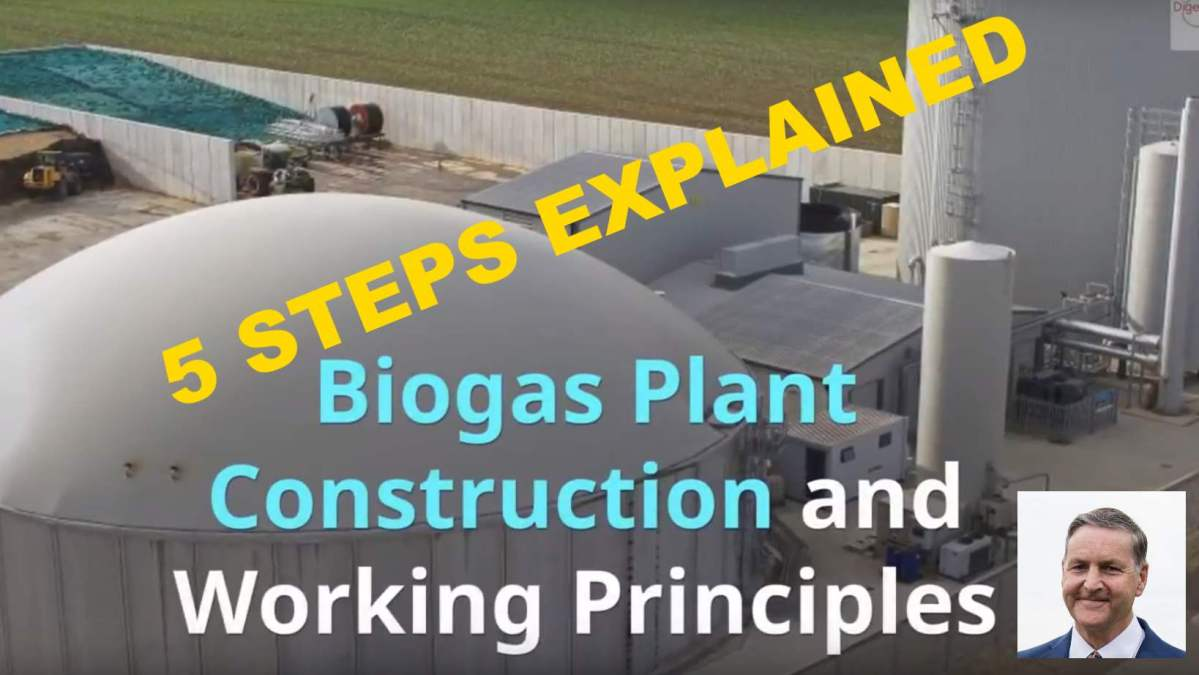 Biogas Plant Construction And Working Stages Diagram Advantages Digester Generation Of