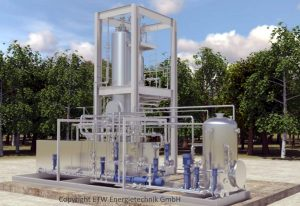 Image showing the Veolia Package Exelys which will deliver the biogas production process.