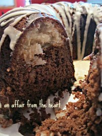 Chocolate Macaroon Bundt Cake An Affair From The Heart