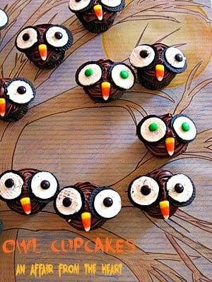 Here's Peeking at you…OWL Cupcakes