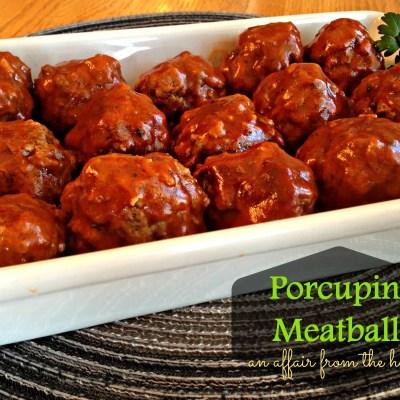 Porcupine Meatballs