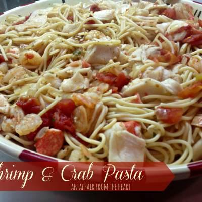 Shrimp and Crab Pasta