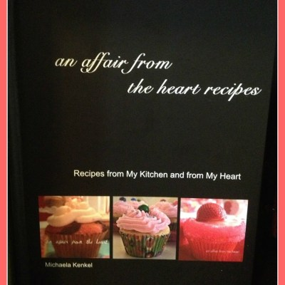 My Niece's Shower ~ and her An Affair from the Heart Cookbook!