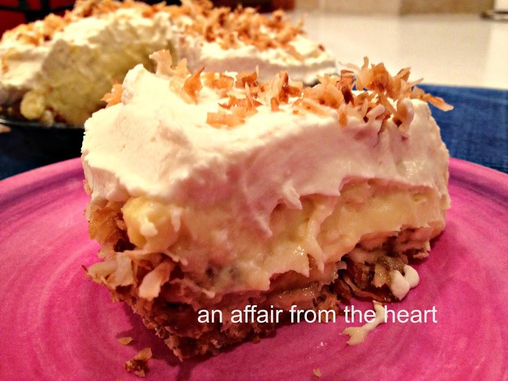 Coconut Banana Cream Pie  An Affair From The Heart-7547