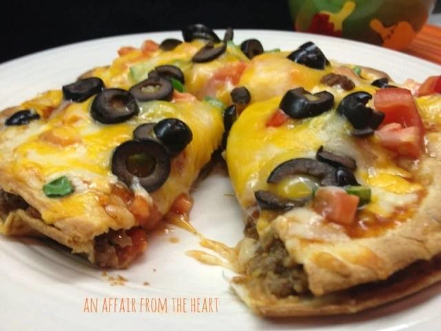 copy cat taco bell mexican pizzas