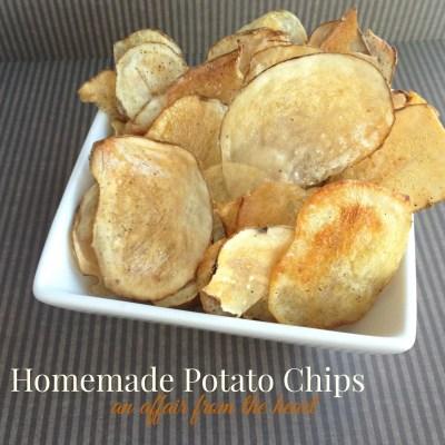 Homemade {baked} Potato Chips