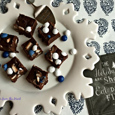 York Peppermint Patty Fudge