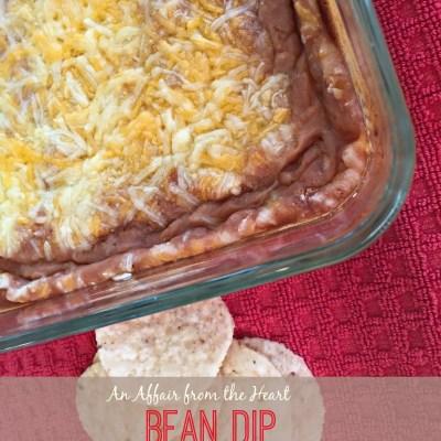 Restaurant Style Bean Dip