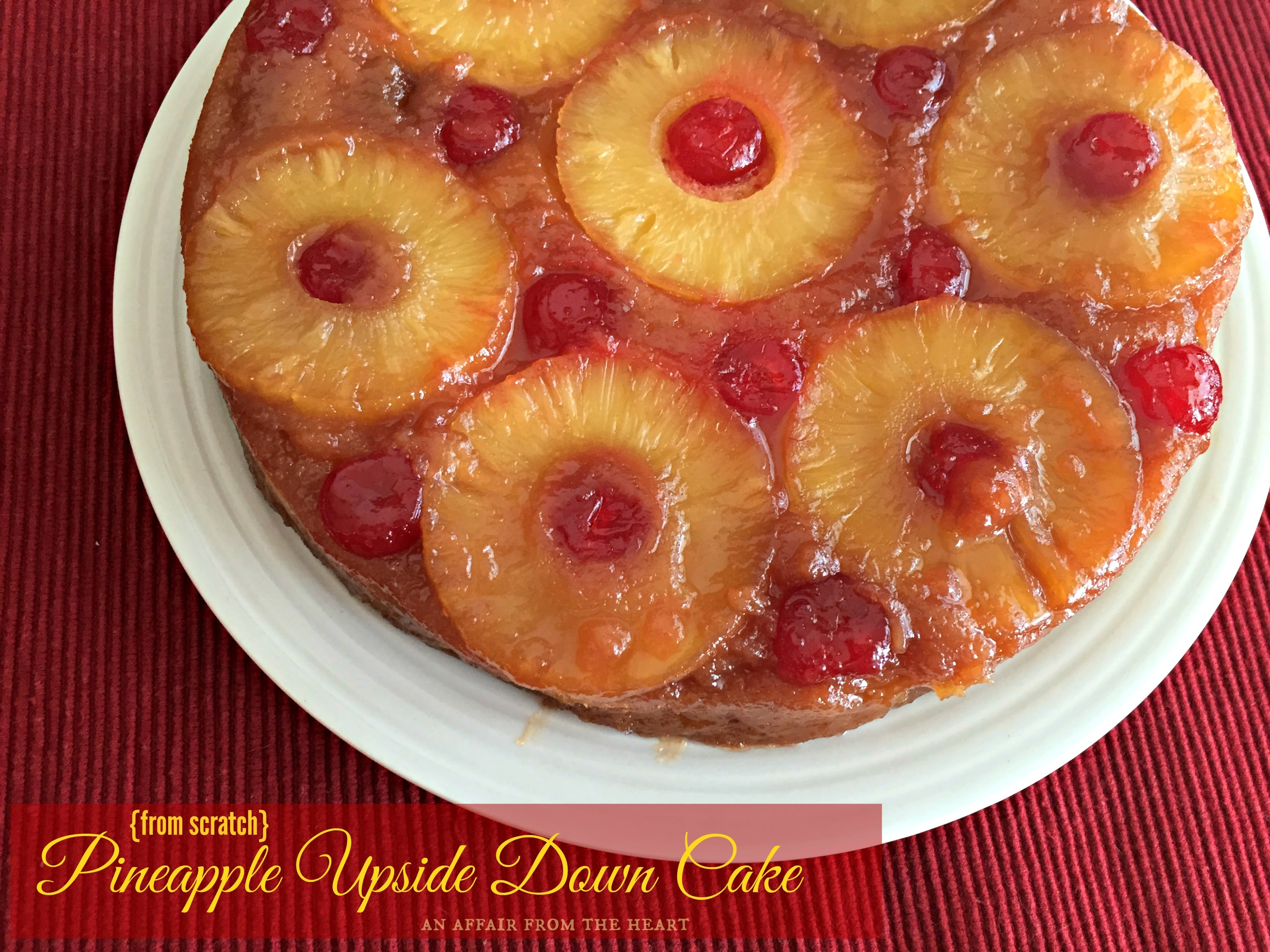 Upside Down Pineapple Cake Mary Berry