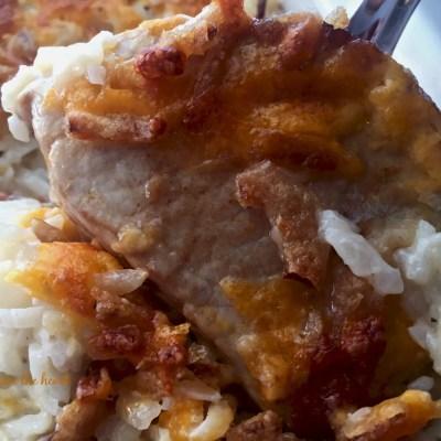 Pork Chop & Potato Bake