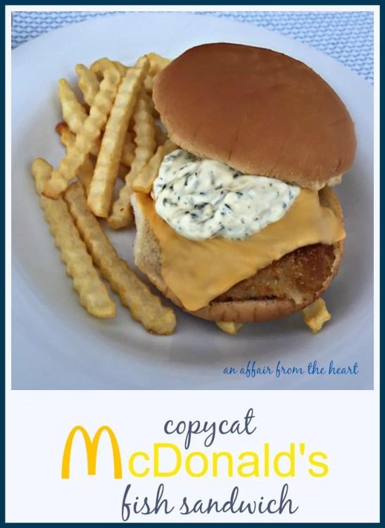 Mcdonalds tartar sauce recipe for Calories in a mcdonald s fish sandwich