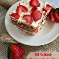 Old Fashioned Strawberry Icebox Cake - An Affair from the Heart