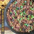 Hot Beef & Bean Dip