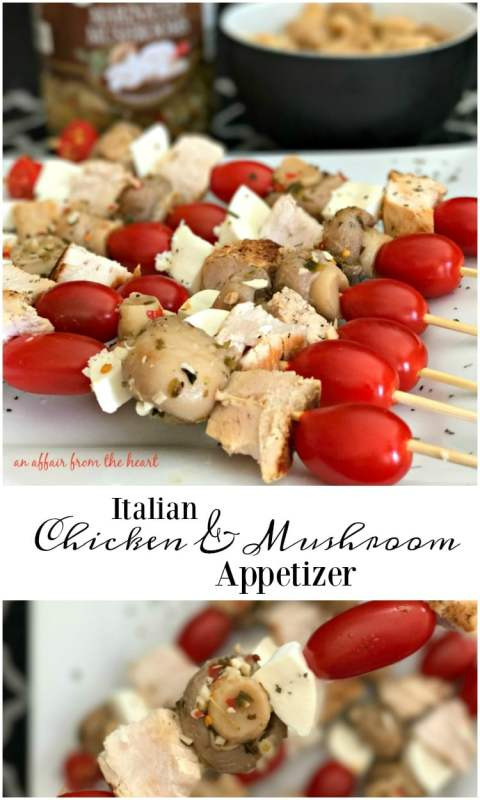 tomato appetizer skewers italian chicken mushroom appetizer an affair from the heart