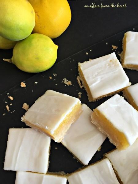 Glazed Lemon Bars